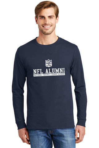 100% Cotton Long Sleeve T-Shirt - NFL Alumni Store