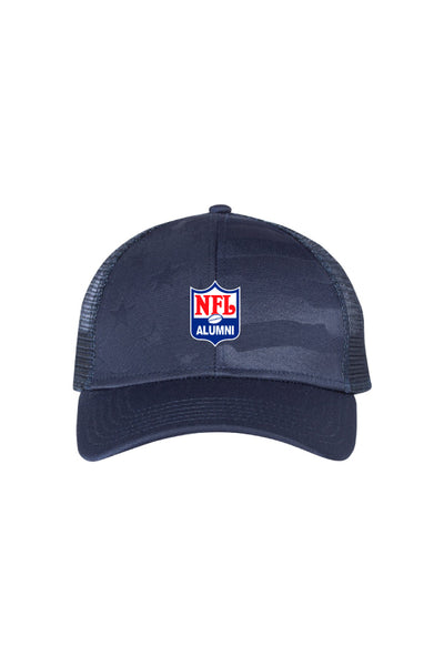 Debossed Stars and Stripes Mesh-Back Cap - NFL Alumni Store