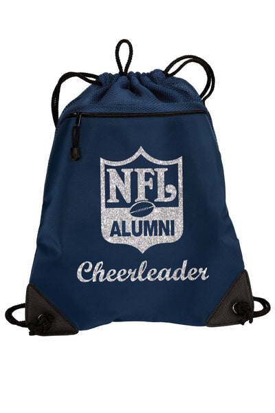 Cinch Backpack with Mesh Trim **Cheerleader Edition** - NFL Alumni Store