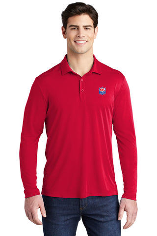 Pro Long Sleeve UV Protected Polo - NFL Alumni Store