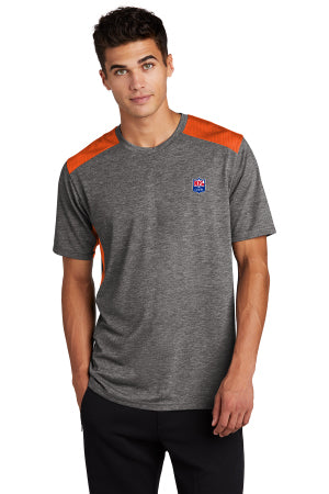 Sport-Tek ® PosiCharge ® Tri-Blend Wicking Draft Tee - NFL Alumni Store