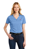 Port Authority® Ladies Shadow Stripe Polo - NFL Alumni Store