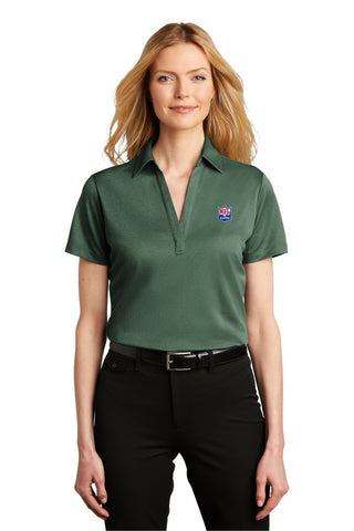 Port Authority® Ladies Heathered Silk Touch™ Performance Polo - NFL Alumni Store