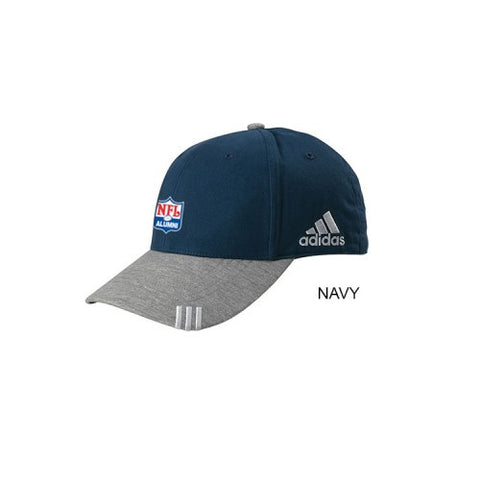 Adidas - Collegiate Heather Cap - NFL Alumni Store