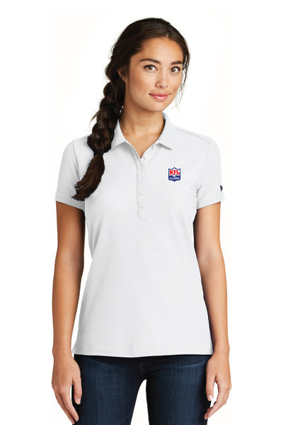 New Era - Ladies Venue Home Plate Polo - NFL Alumni Store