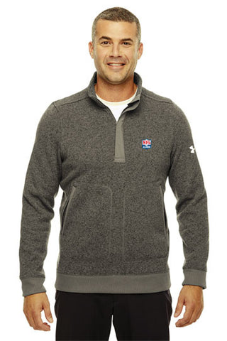 Under Armour - Elevate 1/4 Zip Sweater - NFL Alumni Store