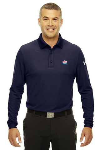 Under Armour - Performance Long Sleeve Polo - NFL Alumni Store