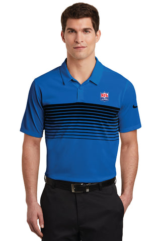 Nike Dri-FIT Chest Stripe Polo - NFL Alumni Store