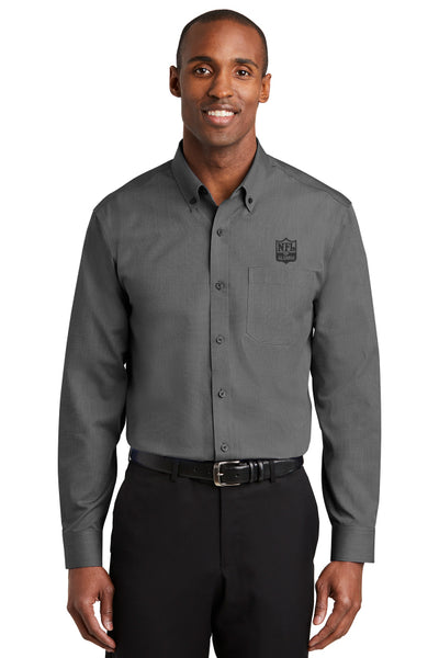 Nailhead Non-Iron Button-Down Shirt - NFL Alumni Store