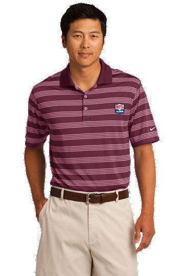Nike Golf - Dri-FIT Tech Stripe Polo - NFL Alumni Store