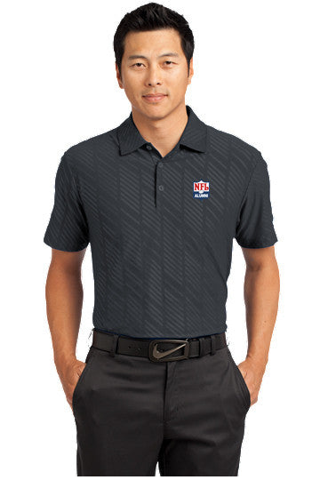 Nike Golf - Dri-FIT Embossed Polo - NFL Alumni Store