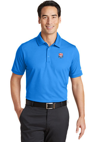 Nike Dri-FIT Solid Icon Piqué Modern Fit Polo - NFL Alumni Store