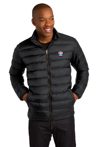 Black Down Jacket - NFL Alumni Store