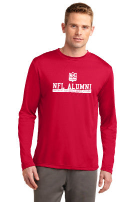 Sport Tek Dri Fit Long Sleeve T Shirt Nfl Alumni Store Whichever purpose you customize your dri fit shirts, it depends on individual preferences on the different types of dri fit. nfl alumni shop
