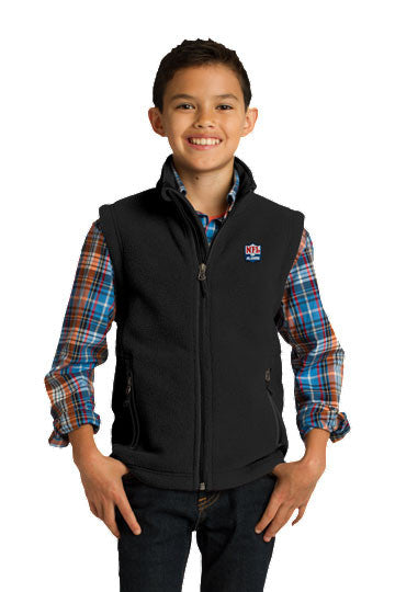 Youth Value Fleece Vest - NFL Alumni Store
