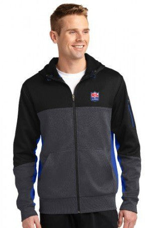 Sport-Tek - Tech Fleece Full-Zip Hooded Jacket - NFL Alumni Store