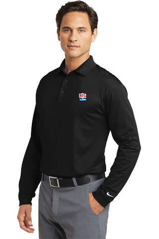 Nike - Tall Long Sleeve Dri-FIT Stretch Tech Polo - NFL Alumni Store - 2