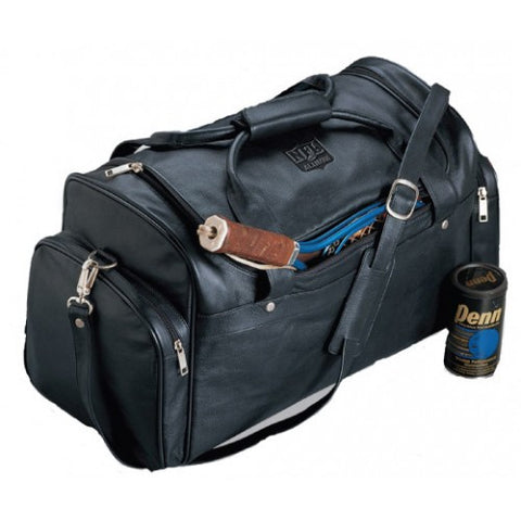 Burk's Bay Top Grain Leather Sport Duffel - NFL Alumni Store