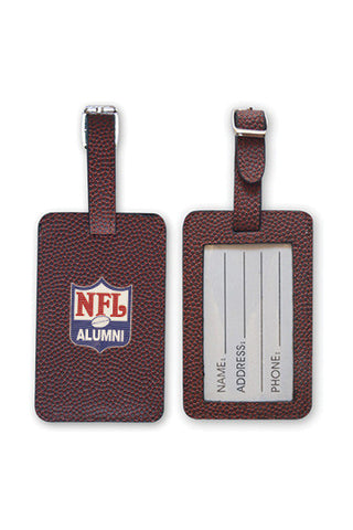 Football Luggage Tag - NFL Alumni Store