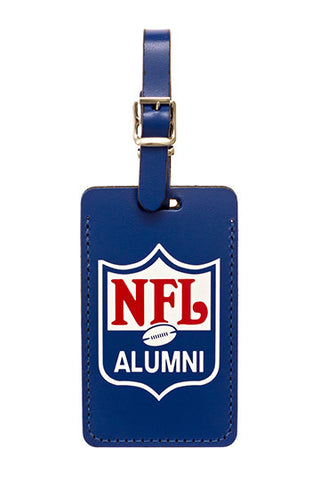 Leather Luggage Tag - NFL Alumni Store - 1