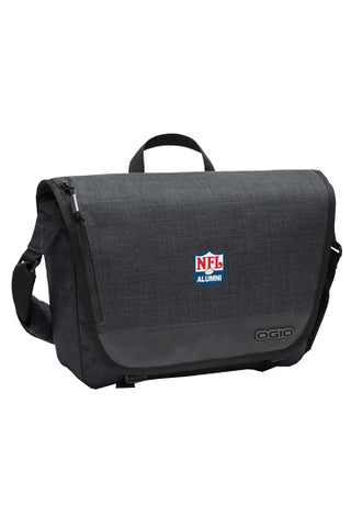 OGIO - Sly Messenger Bag: Heather Grey - NFL Alumni Store