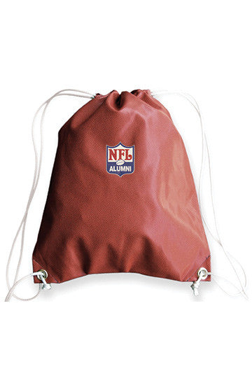 Football Drawstring Bag - NFL Alumni Store