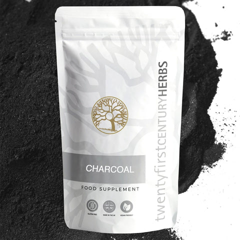 Activated Charcoal By Twenty First Century Herbs