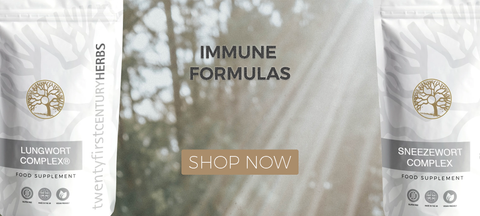 Immune Formulas By Twenty First Century Herbs
