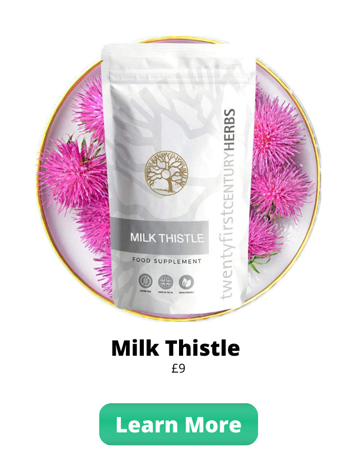 Milk Thistle By Twenty First Century Herbs - Daily Liver Support