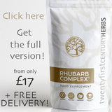 Full Rhubarb Complex - Award Winning All Natural Detox Formula