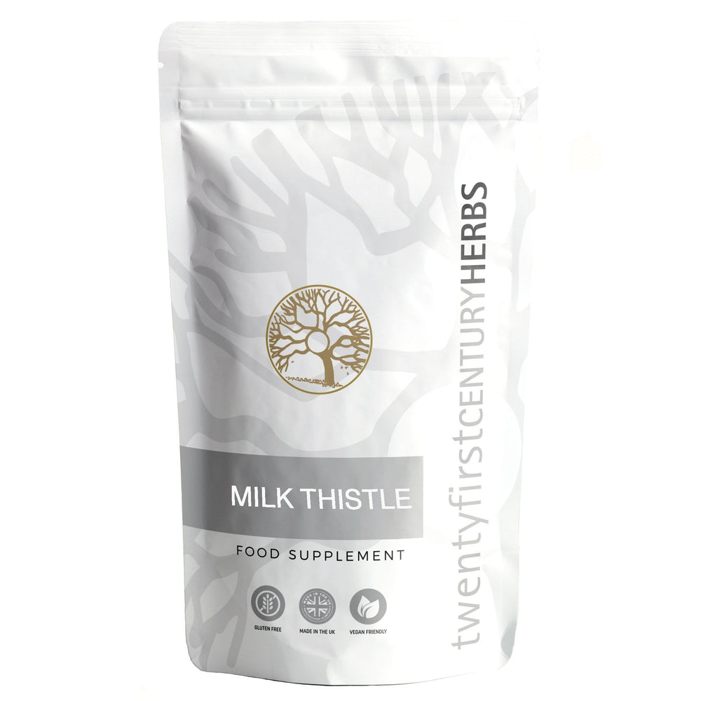 Milk Thistle Herb - Twenty First Century Herbs
