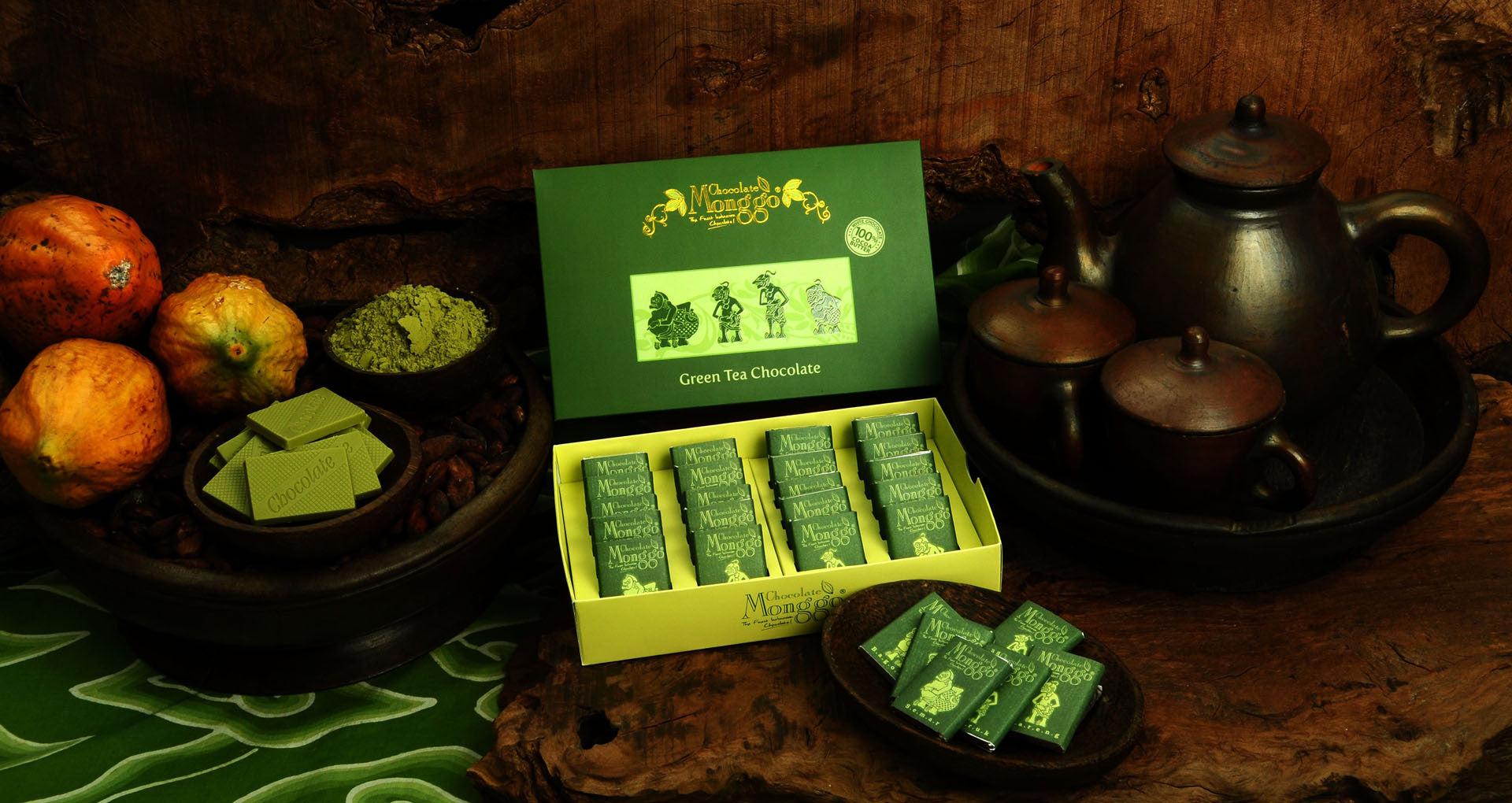 Introducing Punakawan Green Tea Box