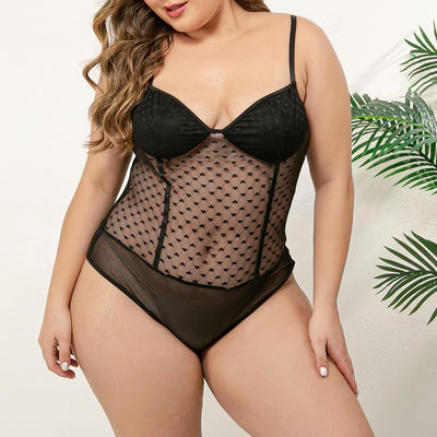 CURVESTYLES ENSEMBLE BODYSUIT CS1502