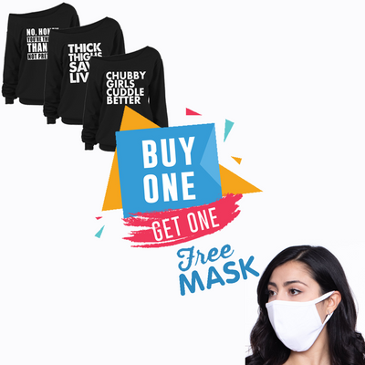 Buy One Get One FREE Mask