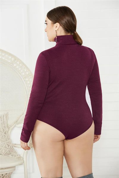 Curvestyles Keep Warm Body suit Plus Size CS1234