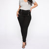CURVESTYLES BUTTON JEANS CS19206