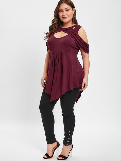 CURVESTYLES FRONT CUT TOP CS124