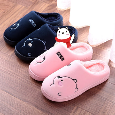 Curvestyles Cartoon Bear Slippers Fashion CS12810