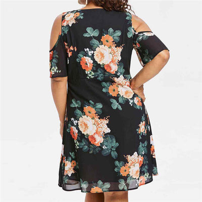 CURVESTYLES RETRO DRESS CS12308