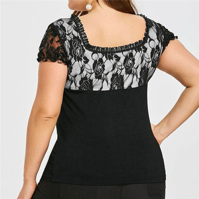 CURVESTYLES BANDAGE TOP CS2744