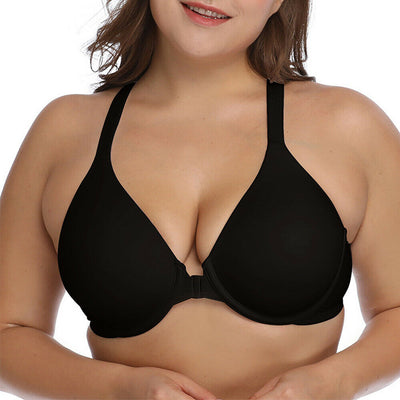 Love Yourself Black Sexy Bra Plus Size