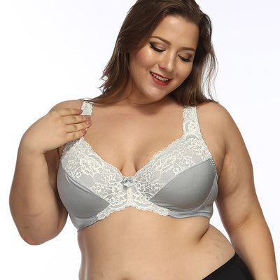 Love Yourself Lavender Sexy Bra Plus Size