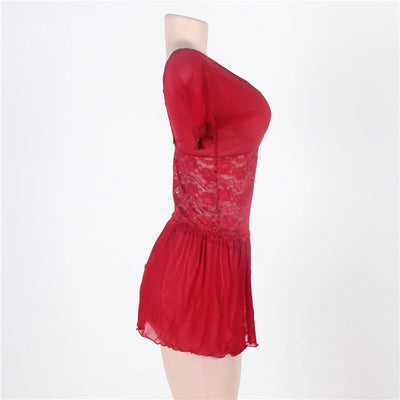 NEW & NOW Red Gorgegous Lingerie Plus Size
