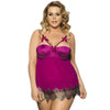 NEW & NOW Lace Decorated Lingerie Plus Size