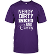 Nerdy Dirty Inked and Curvy T-Shirt