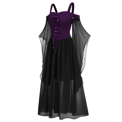 CURVESTYLES HALLOWEEN DRESS CS6101