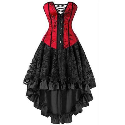 CURVESTYLES CORSETS DRESS CS6101