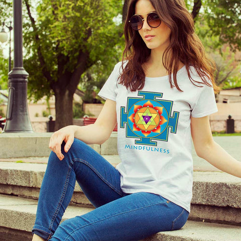 Women's short sleeve t-shirt - Ganesha Yantra
