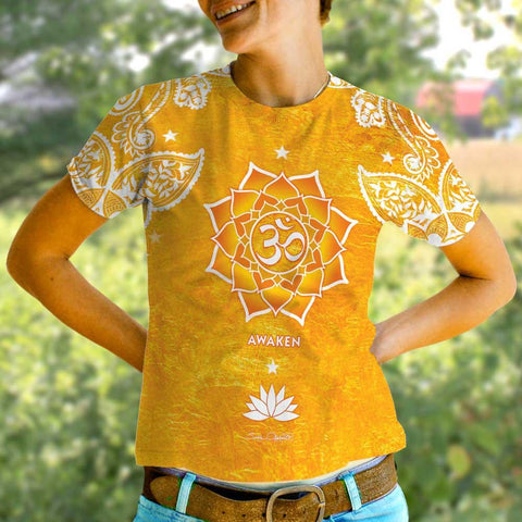 Awaken - Women's Yoga T-shirt