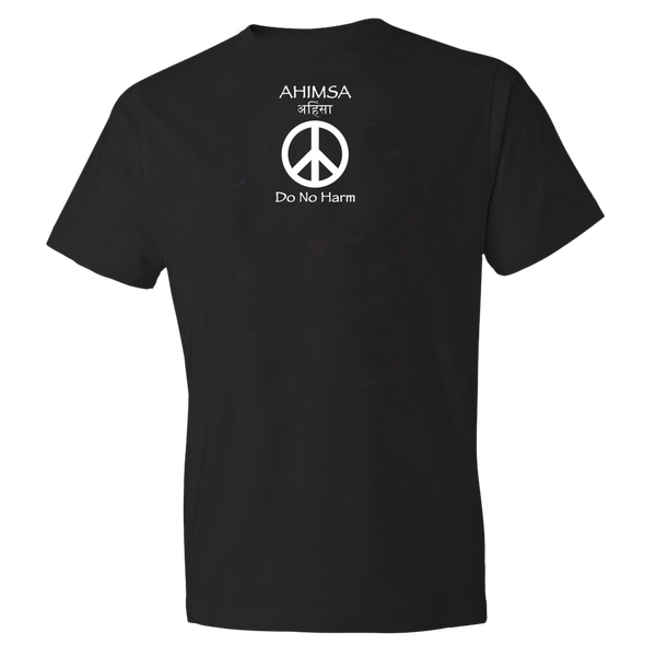 Buddha men's yoga t-shirt by Sushila Oliphant